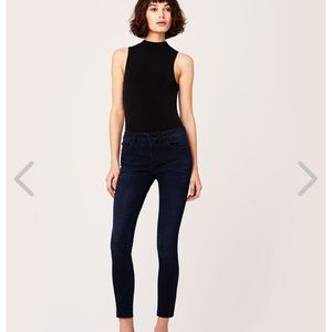 DL1961EMMA LOW RISE SKINNY JEAN IN MACON DARK WASH